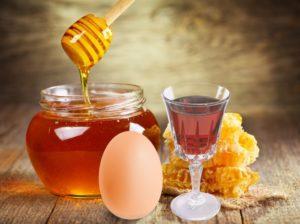 яйцо, мёд