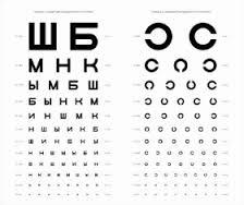 таблица для глаз