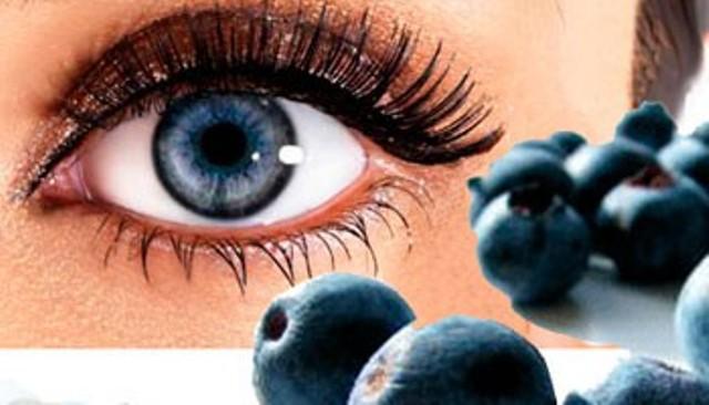 зрение и черника