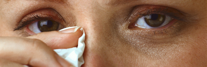 сухость глаз и лечение