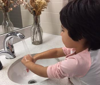 мытье рук детям