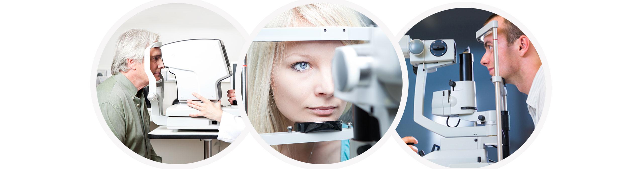 диагностика глаз при мушек