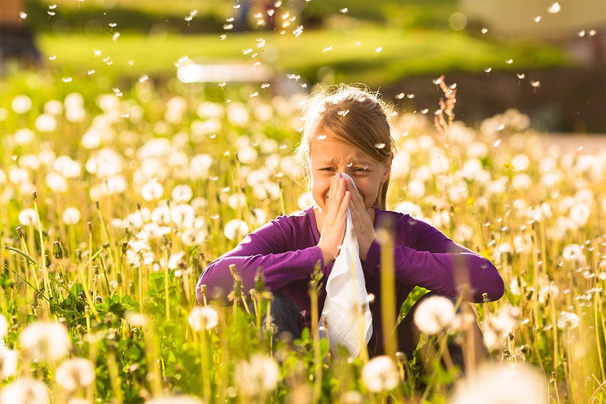 аллергический зуд глаз