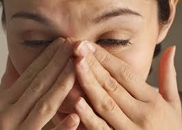симптомы ожога глаз