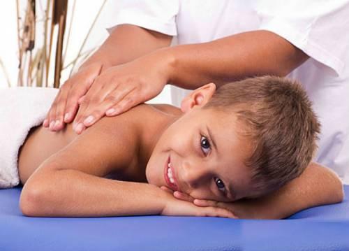 массаж для ребенка при нервном тике