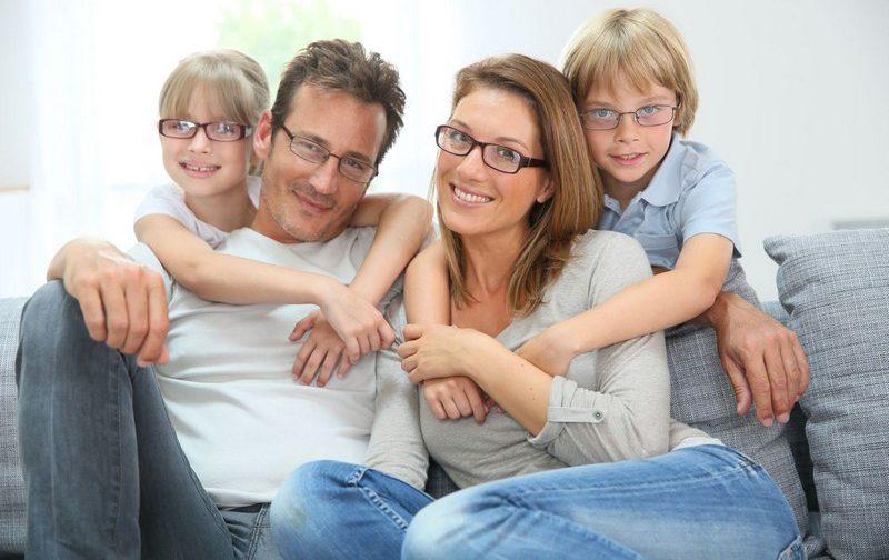 миопия у всей семьи