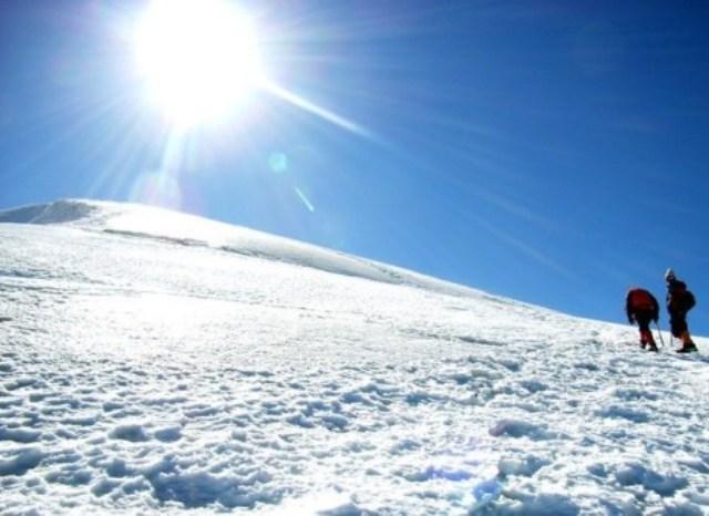 снежная слепота причины