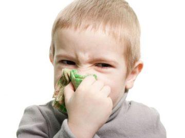 конъюнктивит и насморк у ребенка