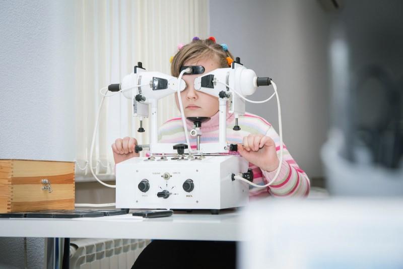 лечение детских глаз