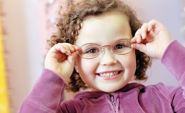 очки для глаз детей