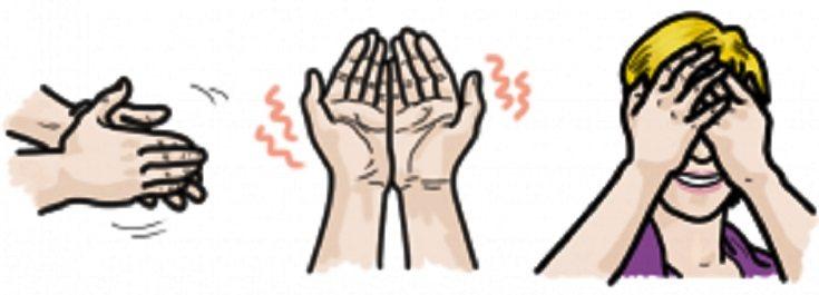 пальминг для зрения
