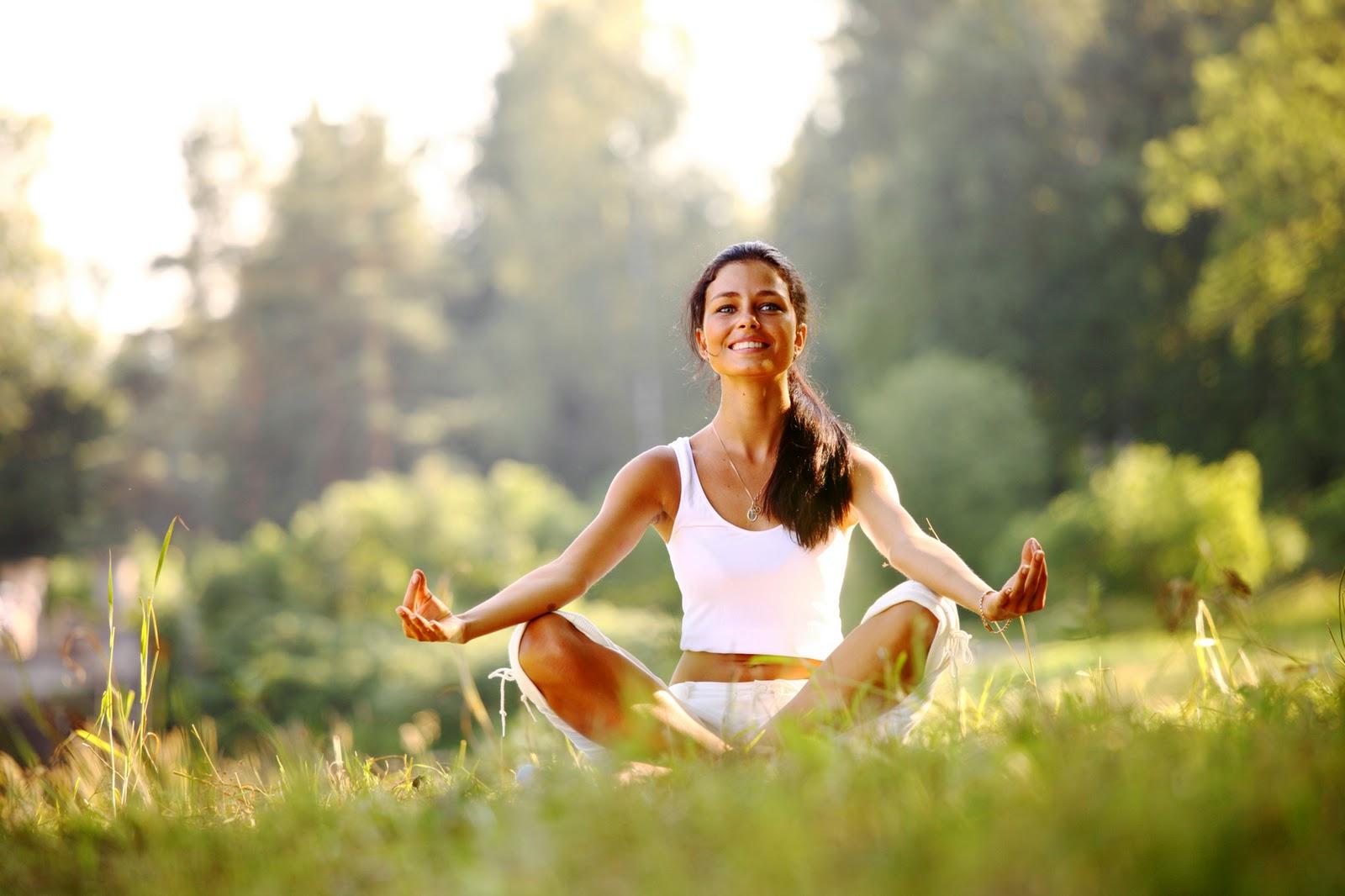 йога для глааз